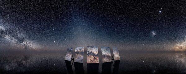 Murray Fredericks' awe-inspiring Array #1 2019 at Paris Photo