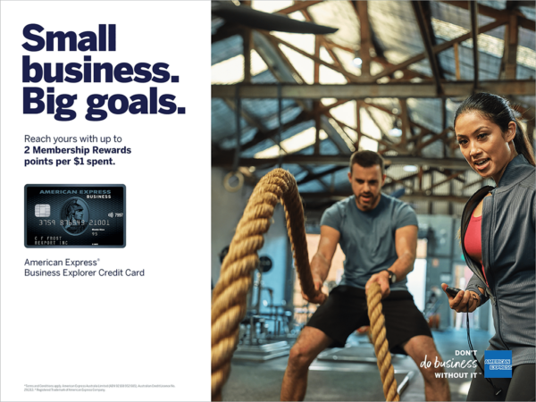 Kicking goals with small businesses, AMEX & Stuart Miller