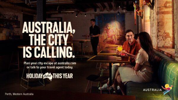 Ian + Erick Escape to Perth for Tourism Australia
