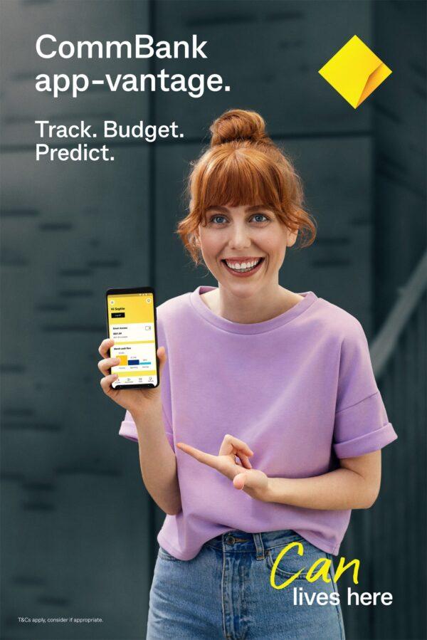 Karima Asaad's CommBank App-vantage